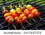 Grilling Tomato Skewers ...