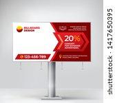creative billboard design ... | Shutterstock .eps vector #1417650395