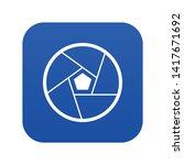 photographic lens icon digital...   Shutterstock .eps vector #1417671692