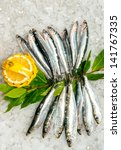 Fresh Sardines And Anchovies...