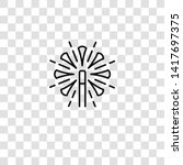 magic wand icon from magic...   Shutterstock .eps vector #1417697375