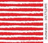 vector red and white stripes... | Shutterstock .eps vector #1417712495