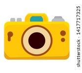 camera photographic summer...   Shutterstock .eps vector #1417717325