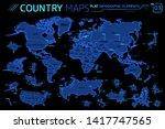 america  asia  africa  europe ...   Shutterstock .eps vector #1417747565