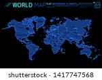 asia  africa  europe  north and ...   Shutterstock .eps vector #1417747568
