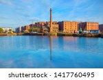 liverpool  uk   may 17 2018 ... | Shutterstock . vector #1417760495