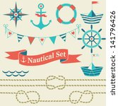 Collection Of Nautical Symbols...