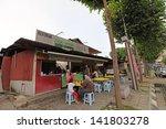 kuala lumpur   june 9  customer ...   Shutterstock . vector #141803278