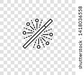magic wand icon from magic...   Shutterstock .eps vector #1418036558