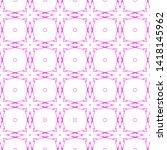 pink geometric seamless pattern....   Shutterstock . vector #1418145962