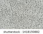 white natural fleece carpet... | Shutterstock . vector #1418150882