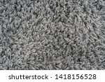 black natural fleece carpet... | Shutterstock . vector #1418156528
