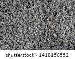 black natural fleece carpet... | Shutterstock . vector #1418156552