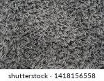 black natural fleece carpet... | Shutterstock . vector #1418156558