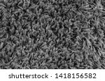 black natural fleece carpet... | Shutterstock . vector #1418156582