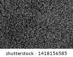 black natural fleece carpet... | Shutterstock . vector #1418156585
