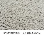 white natural fleece carpet... | Shutterstock . vector #1418156642