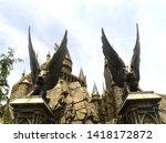 osaka  japan   may 15  2019 ... | Shutterstock . vector #1418172872