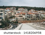 beautiful view of residential... | Shutterstock . vector #1418206958