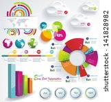 set elements of infographics | Shutterstock .eps vector #141828982