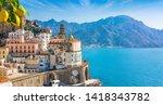Small Town Atrani On Amalfi...