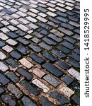 Colourful Paving Stones In A...