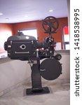old film projector 35 mm film   Shutterstock . vector #1418538995