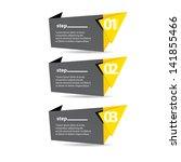 vector paper progress... | Shutterstock .eps vector #141855466