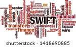 swift word cloud concept.... | Shutterstock .eps vector #1418690885