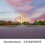 moscow  russia   may 17  2019 ... | Shutterstock . vector #1418696045