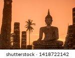 A Buddha Statue At The Wat...