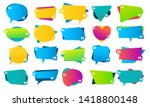 color quote in quotes.... | Shutterstock .eps vector #1418800148