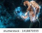 Muscular Fitness Sports Man ...