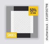 sale   fashion concept social... | Shutterstock .eps vector #1418930798