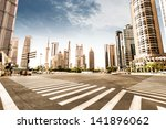 the century avenue of street...   Shutterstock . vector #141896062