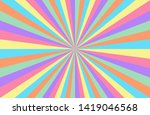 rainbow candy swirl colorful... | Shutterstock .eps vector #1419046568