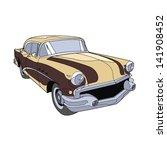 retro car brown   Shutterstock .eps vector #141908452