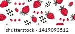 vector seamless bright light... | Shutterstock .eps vector #1419093512