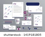 corporate business  identity... | Shutterstock .eps vector #1419181805