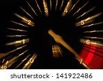 Tachometer At Night