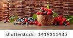 Berries Closeup Colorful...