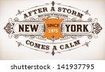 Stock vector vector retro design 141937795