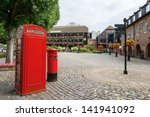Red Phone Booth And Post Box O...