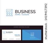 team  arrow  business  chart ... | Shutterstock .eps vector #1419417392