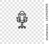 gaming chair icon from... | Shutterstock .eps vector #1419435905