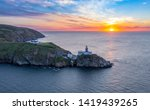 Aerial View Of The Sunrise Ove...