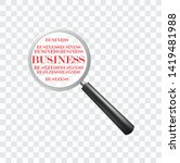 business word search with... | Shutterstock .eps vector #1419481988