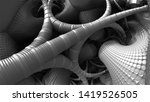 abstract background  fantastic... | Shutterstock . vector #1419526505