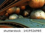 abstract background  fantastic... | Shutterstock . vector #1419526985