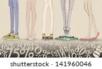 big sale vector illustration... | Shutterstock .eps vector #141960046